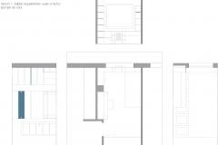 La castellana - dormitorio alzados