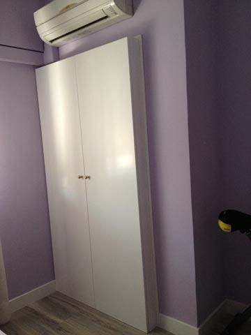 Detalle de armario a medida