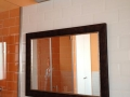 detalle espejo con marco de cuadro