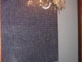 Aseo con lámpara vintage